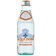 Água mineral PANNA  s/gás -Italia/Toscana - 250 ml