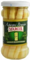 Aspargos Brancos Marcol - 205 g